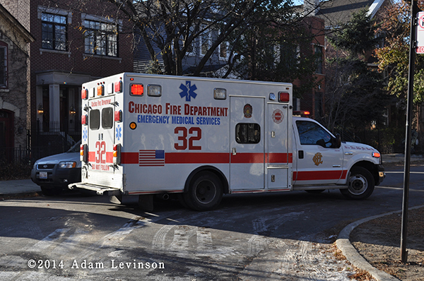 Chicago FD Ambulance 32