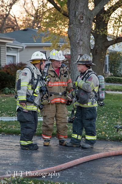 Fire Chief Rick Kolomay