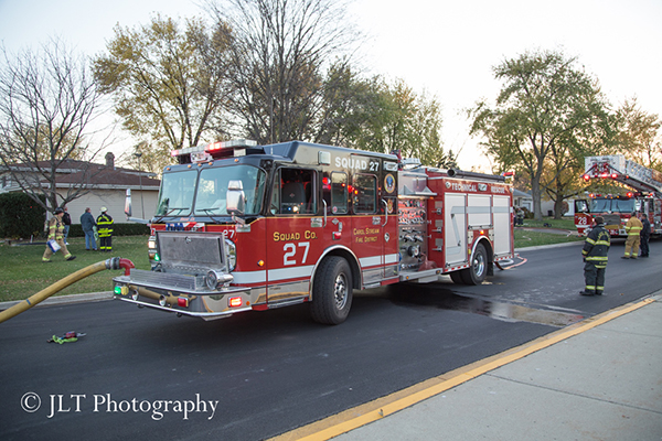 Carol Stream FPD fire engine 27