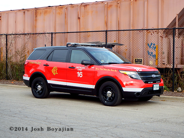 Ford Explorer for Chicago Fire Department