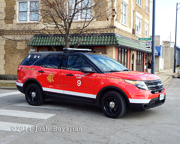 Chicago FD Battalion 9