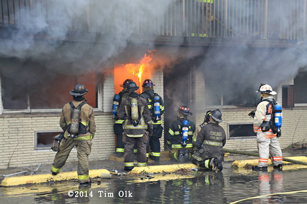 firefighter live-fire training