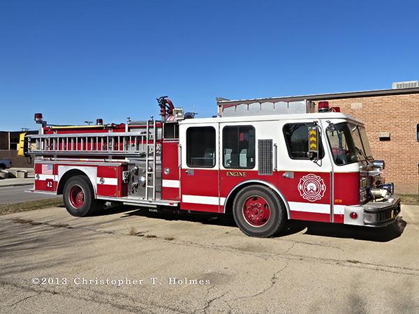 E-ONE Hurricane fire engine