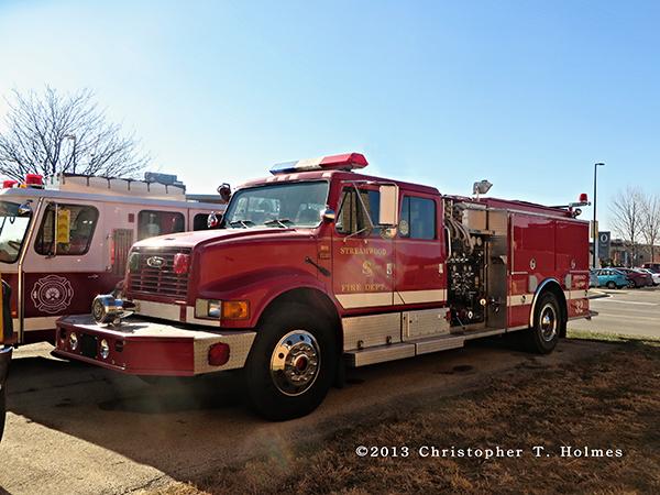 Navistar fire engine