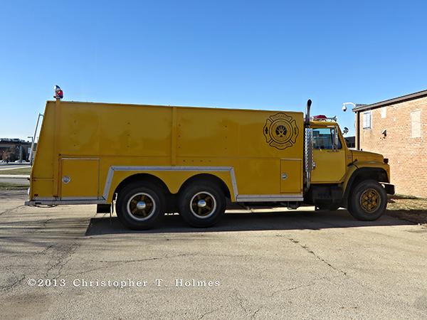 fire department water tanker