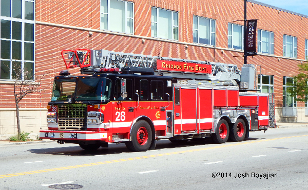 Chicago FD Truck 28
