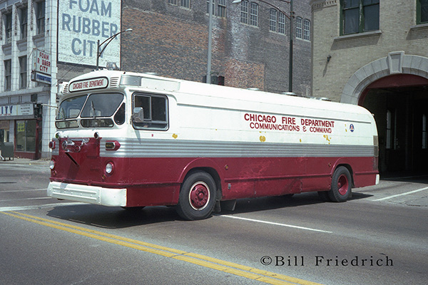 historic Chicago fire truck
