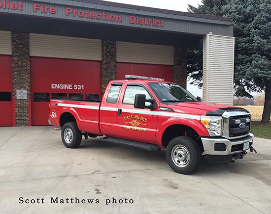 fire department pickup truck