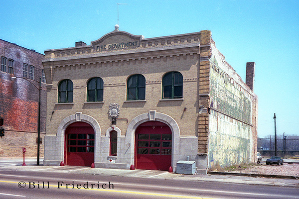 Old Chicago firehouse