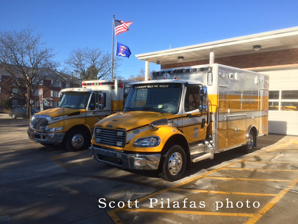 Navistar and Freightliner ambulances