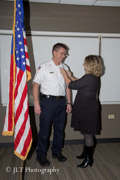 swearing in of new fire chief