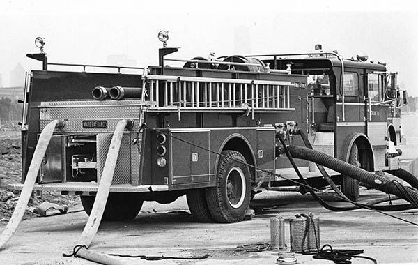 Chicago Ward LaFrance fire engine
