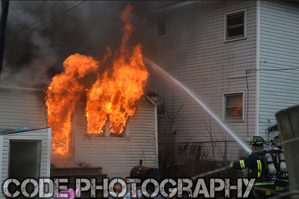 house fully engulfed in flames