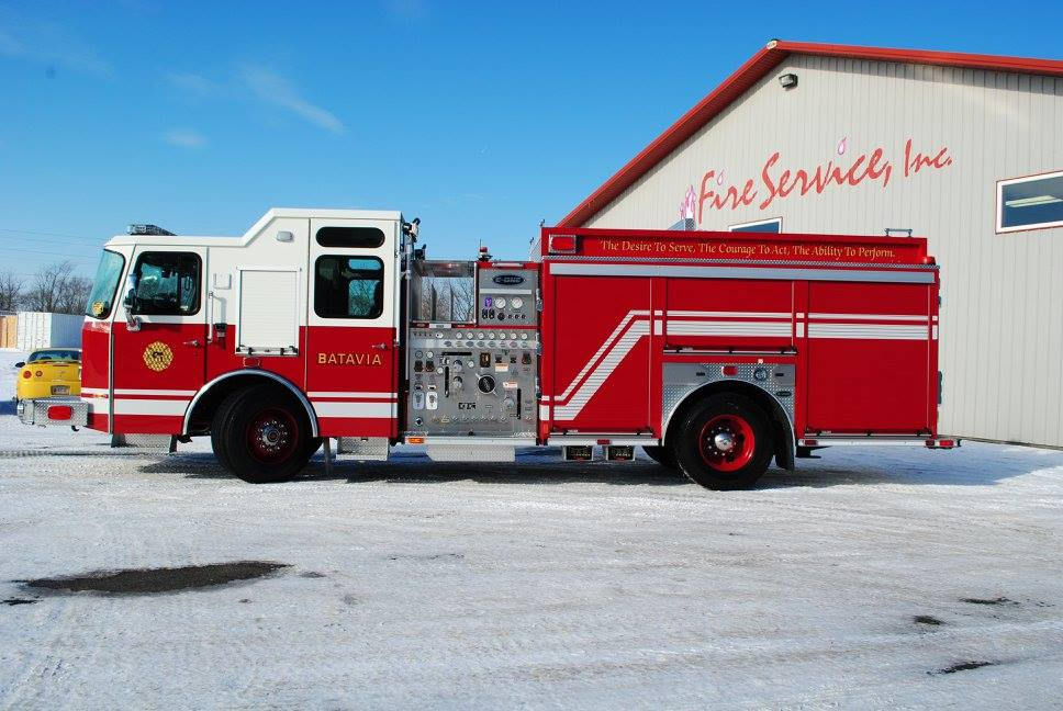 E-ONE Typhoon fire engine