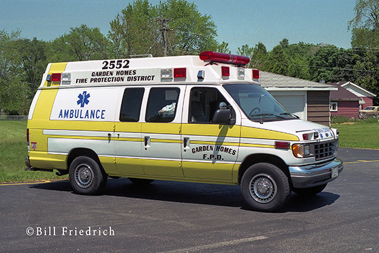 Type II ambulance Garden Homes Fire Protection District