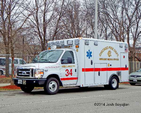 Chicago FD Ambulance 34