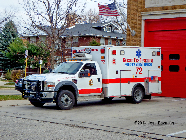 Chicago FD Ambulance 72