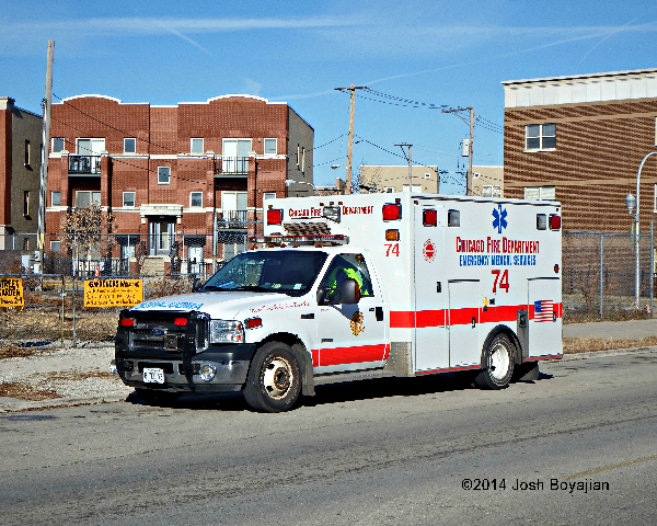 Chicago FD Ambulance 74