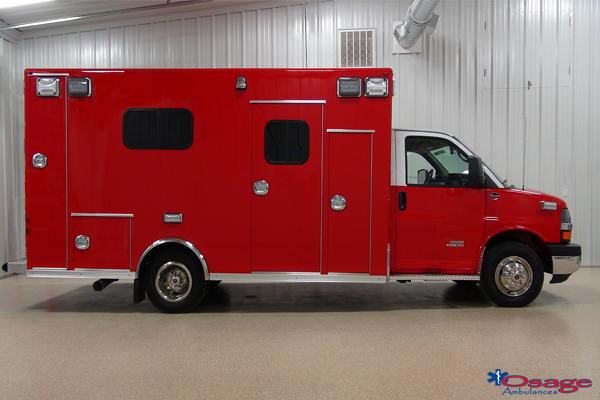 Osage Type III ambulance