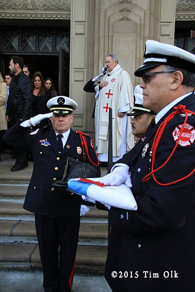 Chicago fire department funeral