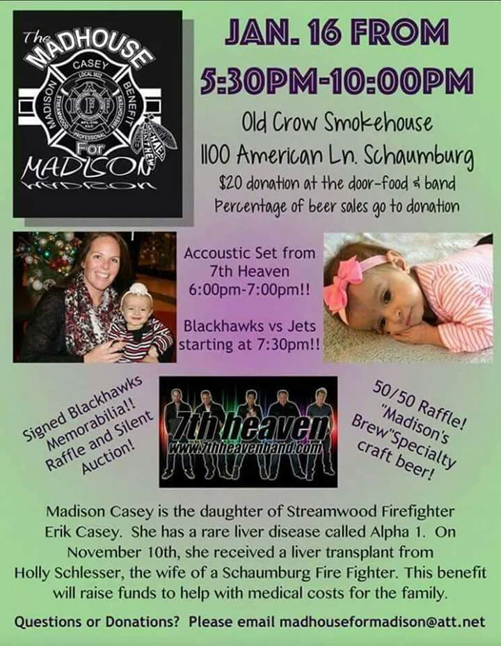 Fundraiser for Madison Casey