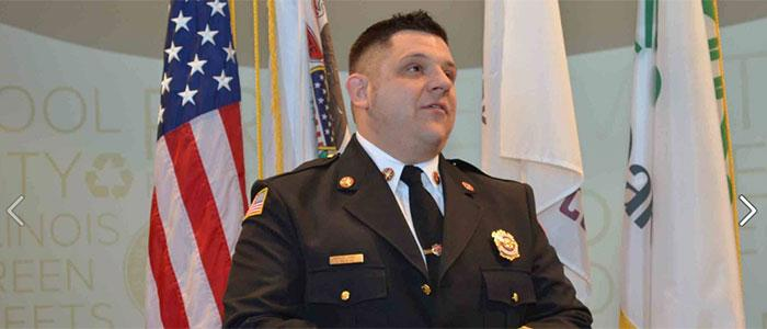 Oak Park Fire Department Deputy Chief Peter Pilafas