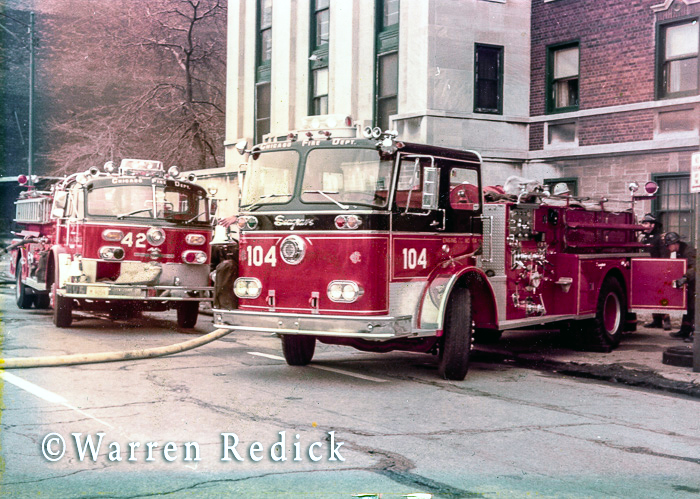 vintage fire engines in Chicago