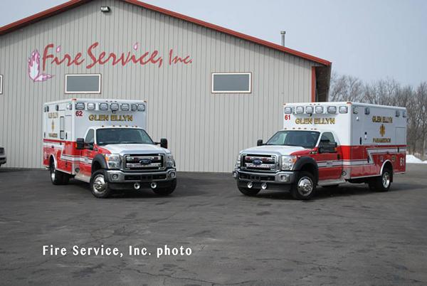 new ambulances for Glen Ellyn IL