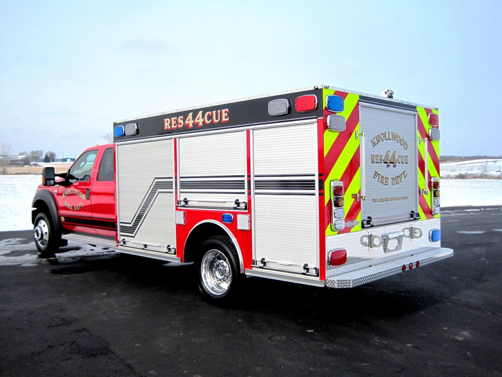 Knollwood Fire Department fire truck