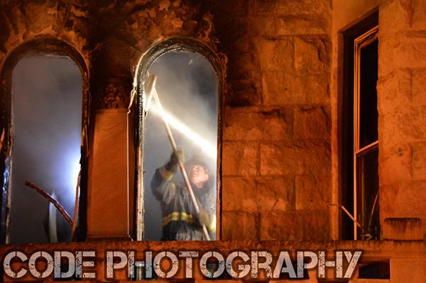 firemen overhaul room