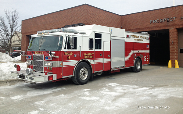 Prospect Heights FPD Pierce Lance rescue pumper