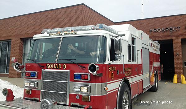 Prospect Heights FPD Pierce Lance rescue pumper