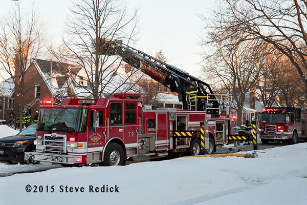 Niles FD Tower Ladder 2 Pierce Dash CF PUC