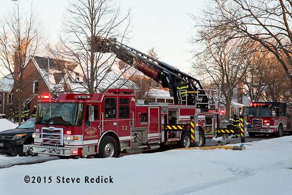 Niles FD Tower Ladder 2 Pierce Dash CF PUC