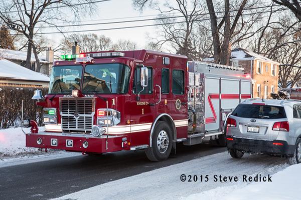 SpartanERV fire engine North Maine FPD