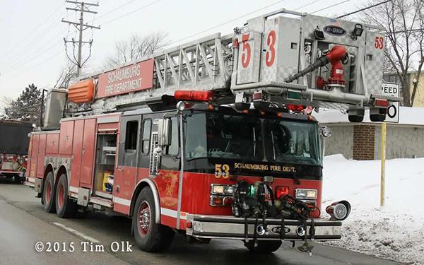 Schaumburg fire truck