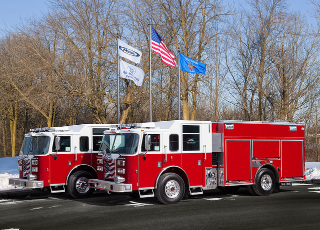 new fire engines for the Rockford FD