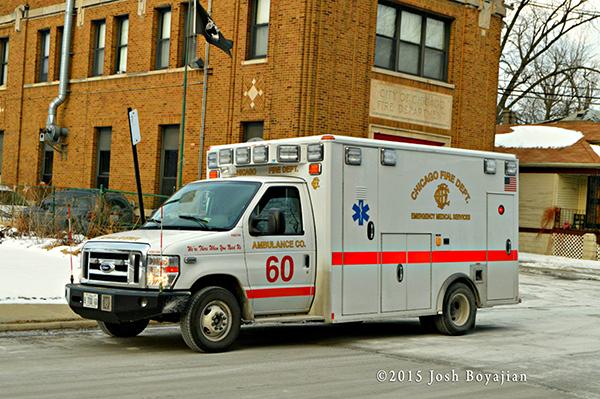 Chicago FD ambulance