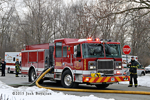 Seagrave fire engine from the Alsip Fire Department