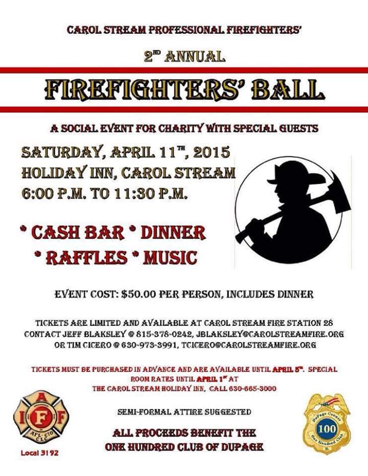 Carol Stream Firefighters' Ball