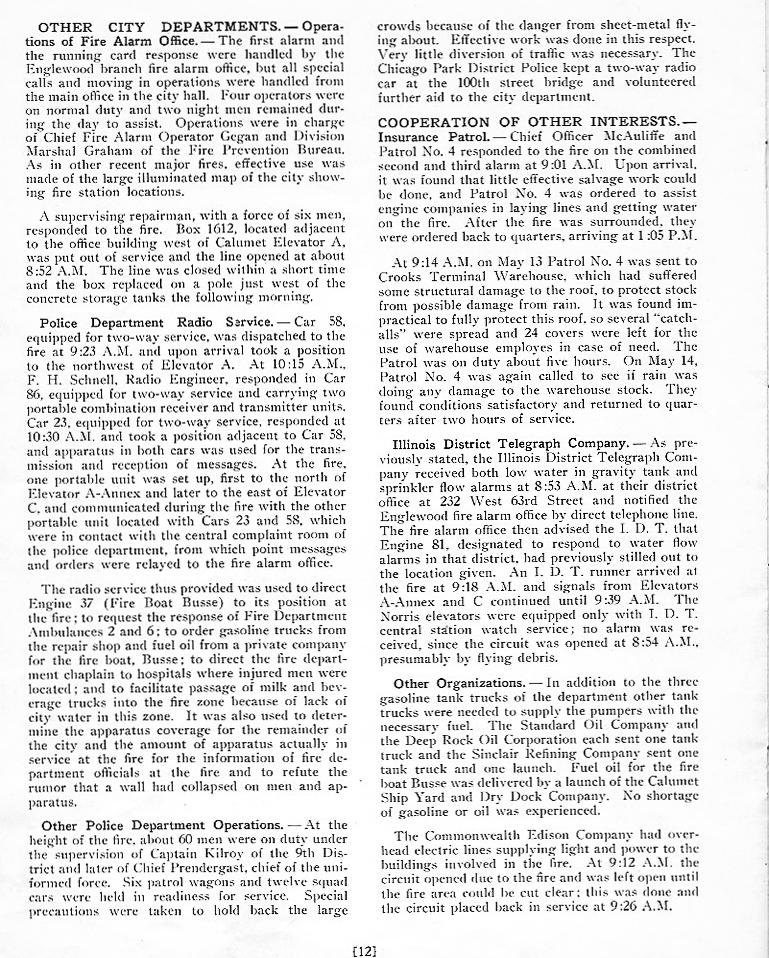Grain Elevator Conflagration of 1939