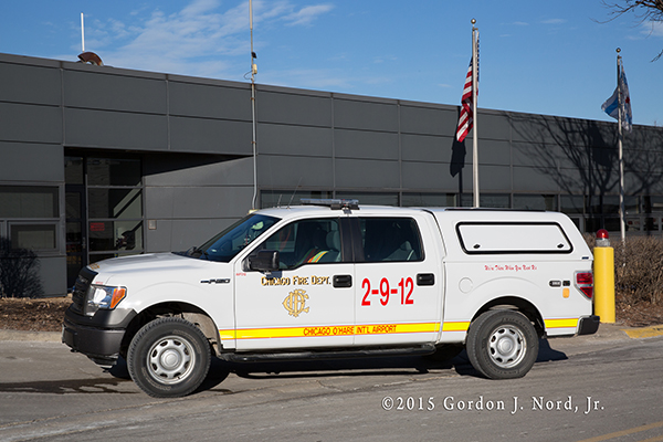 Chicago O'Hare Airport FD support unit
