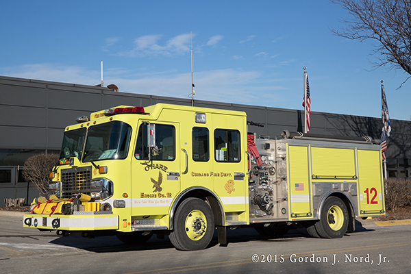 Chicago O'Hare Airport Spartan ERV fire engine