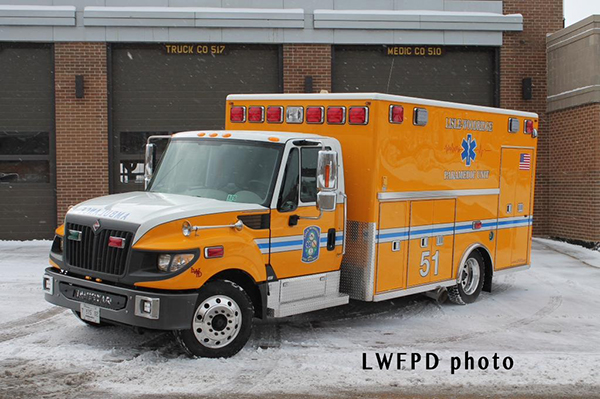 Ambulance with IHC Terra Star chassis