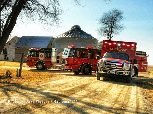 Cortland FPD fire apparatus