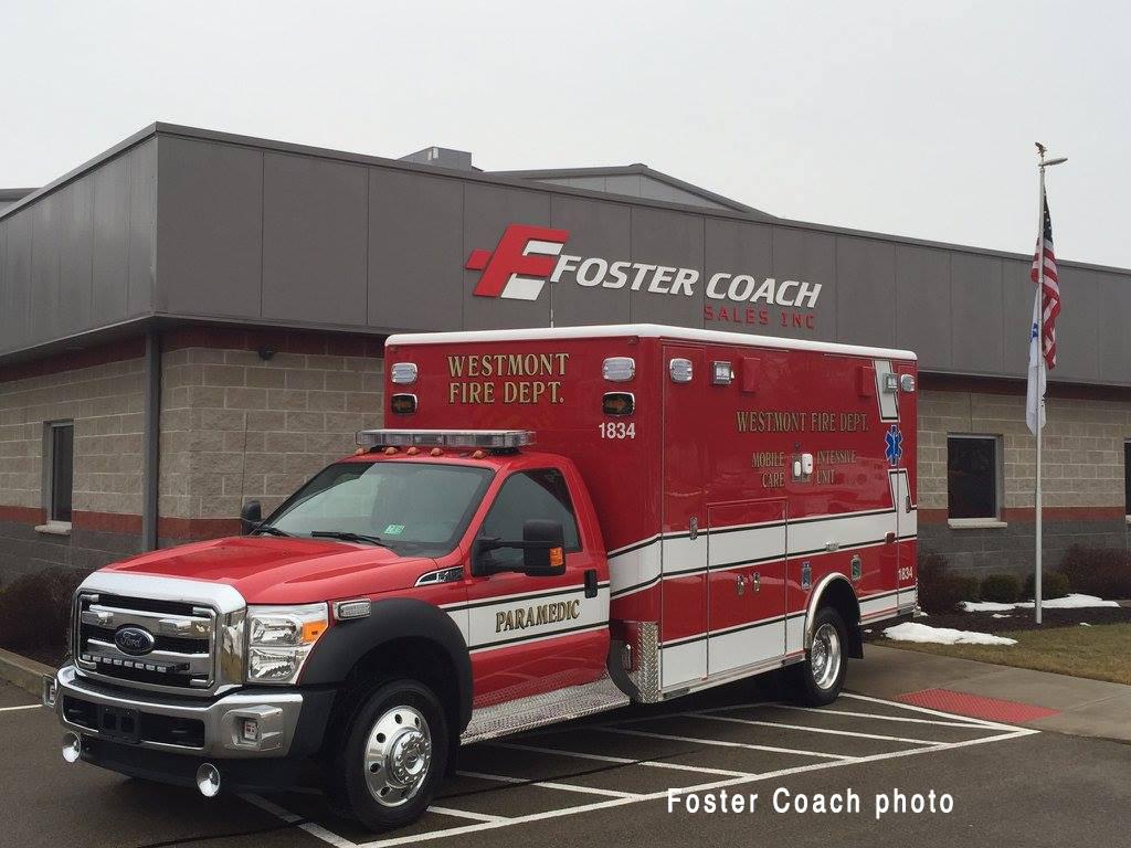 Ford F450 Type I ambulance