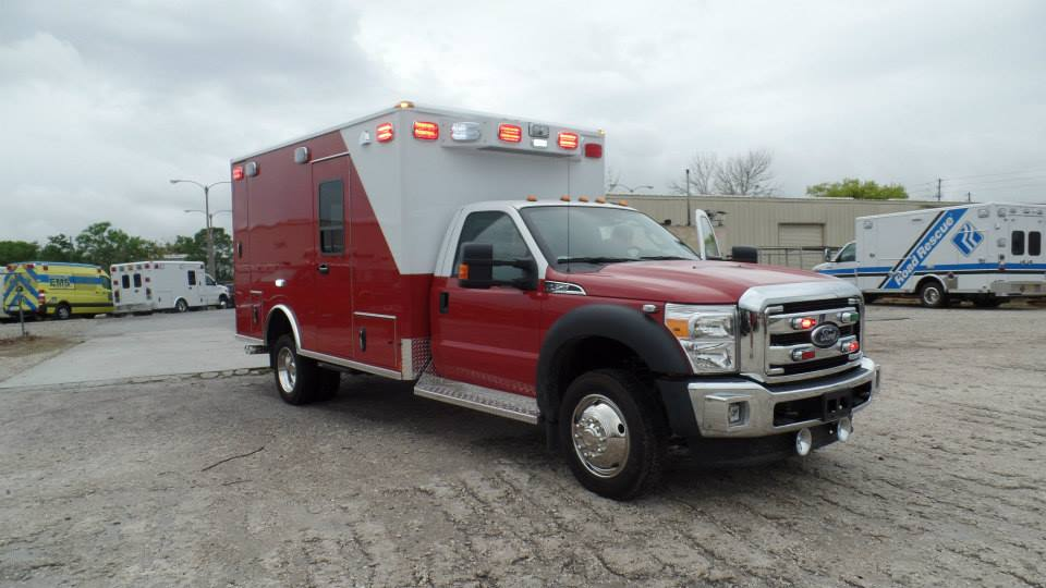 ambulance on Ford F450 chassis