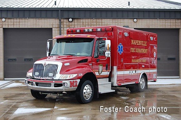 Naperville FD ambulance