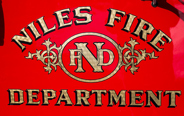 fire department decal and scramble