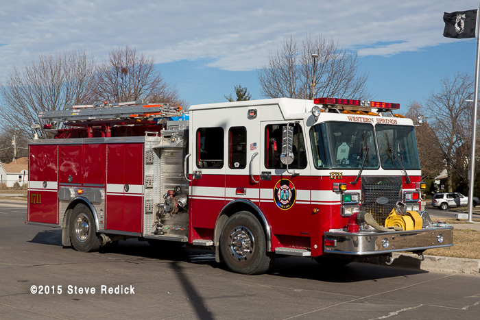 Western Springs FD fire engine